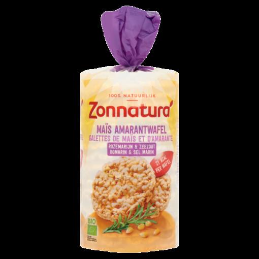 Zonnatura Mais- Amarantwafels Rozemarijn & Zeezout
