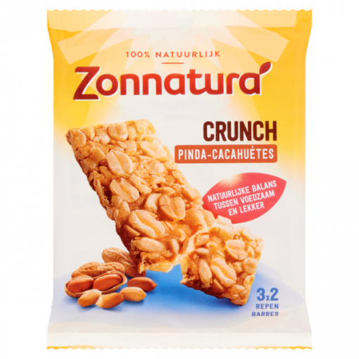 Zonnatura Pinda Crunch Repen 3-Pack