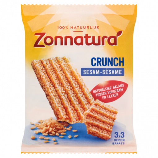 Zonnatura Sesam Crunch Repen 3-Pack