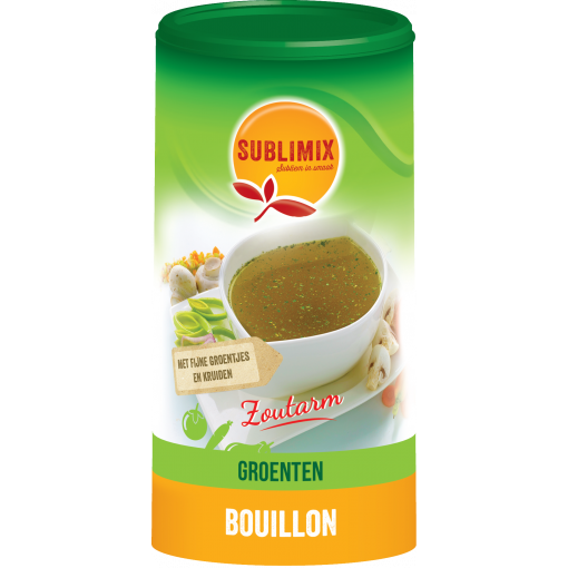 Sublimix Groentebouillon Zoutarm