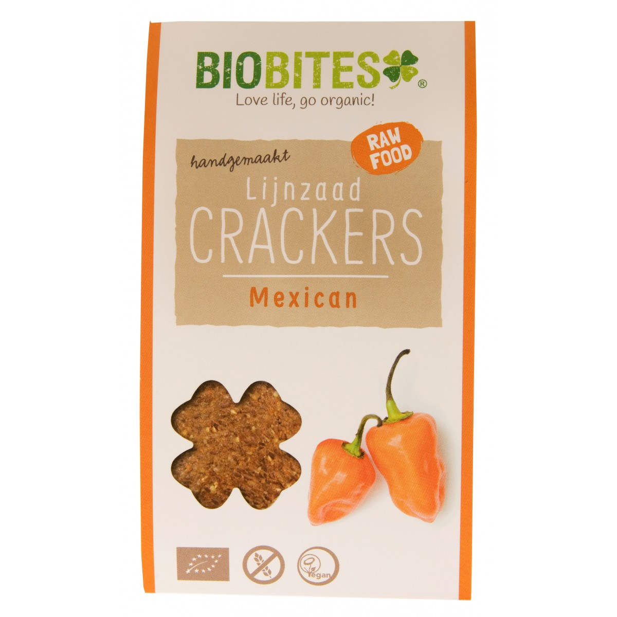 Lijnzaad Crackers Mexican 30 gram