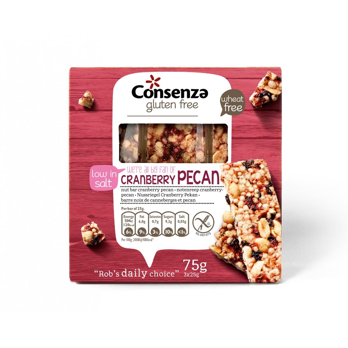 Cranberry-Pecan Notenreep