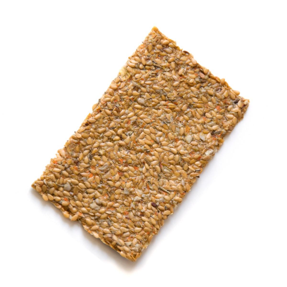 Lijnzaad Crackers Rozemarijn 30 gram