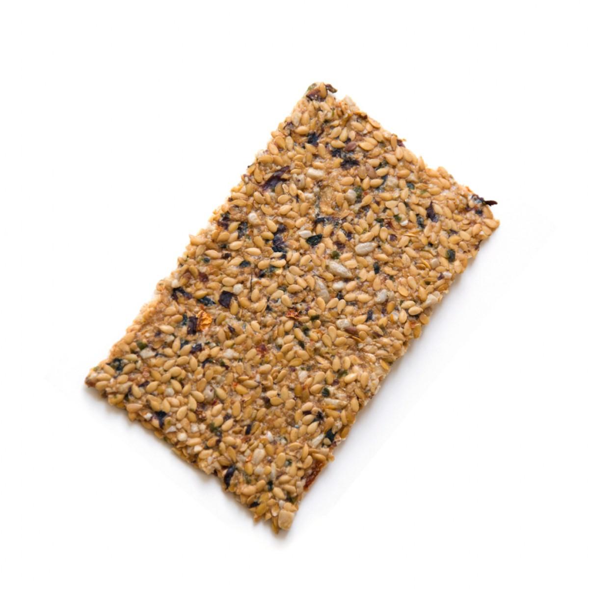 Lijnzaad Crackers Zeewier