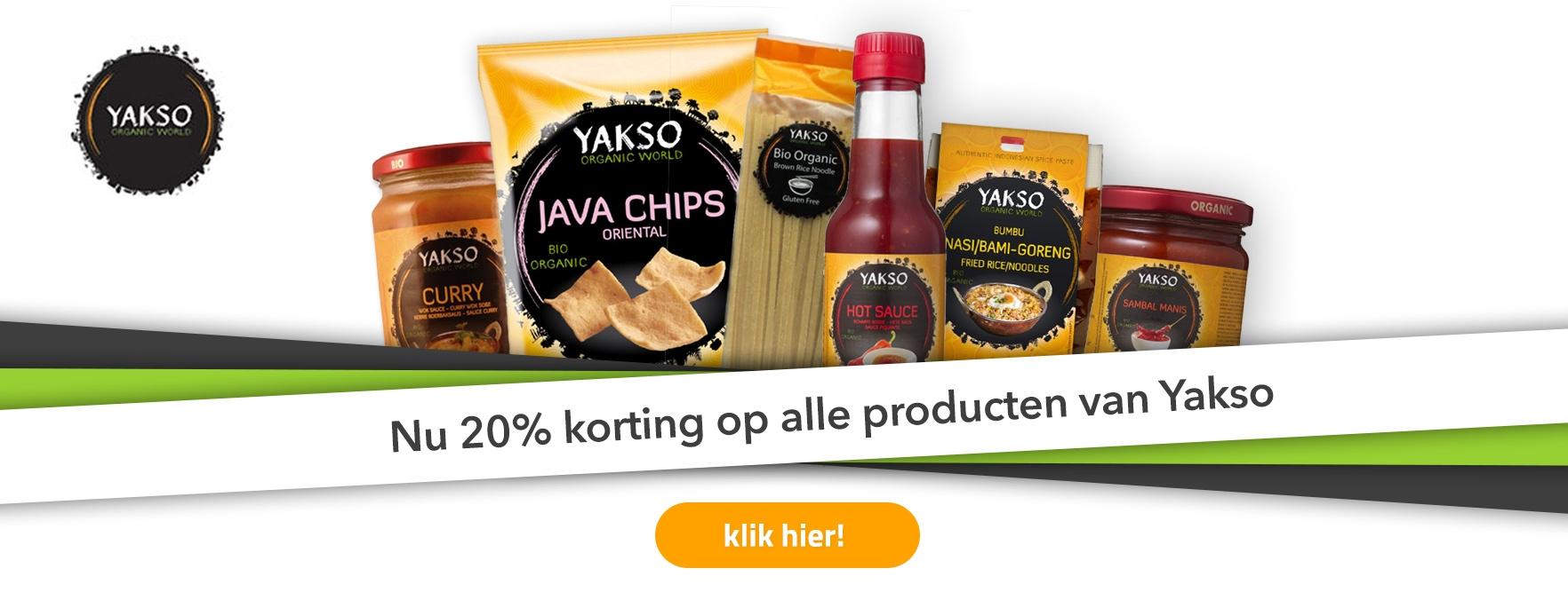 Yakso Aanbieding!
