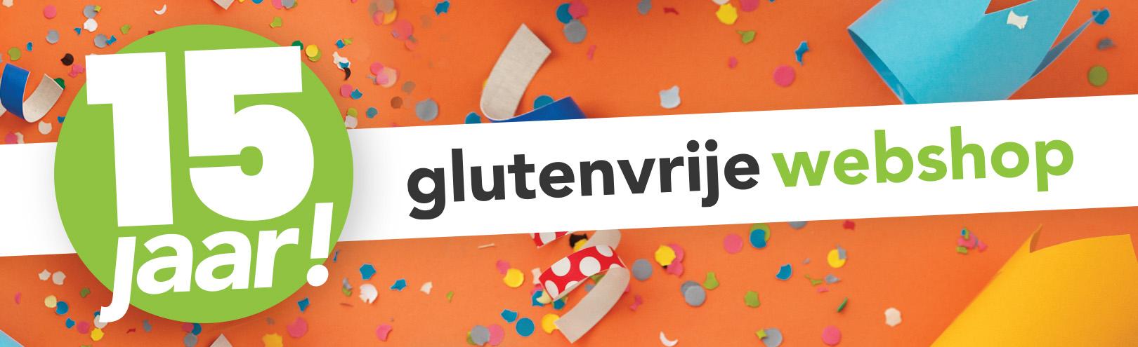 Glutenvrije Webshop: 15 jaar