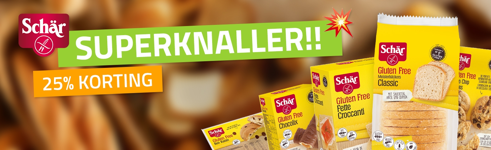 Glutenvrije Schar Producten
